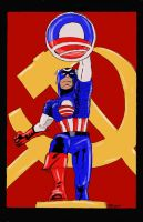 Captain Amer eh Obama by SudsySutherland