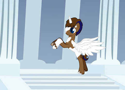 Mighty Michael visits Canterlot in his dreams by Z101rocks