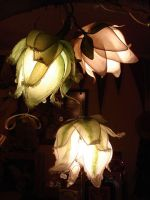 lotus flower lamp by AvantFae