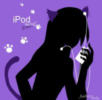 iPod Kitteh by featherz