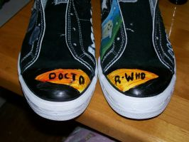 Doctor Who Shoes by Night-Sky13