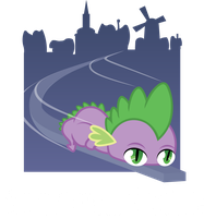 Lolponies: Monorail Spike by AxemGR