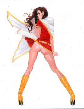Mary Marvel: lollypoptart by synthetikxs