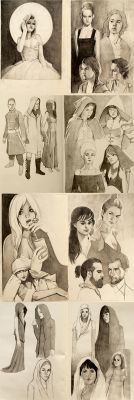 Pages from my sketchbook by mannequin-atelier