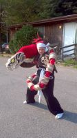Renji bankai cosplay by Dark-Capricorn