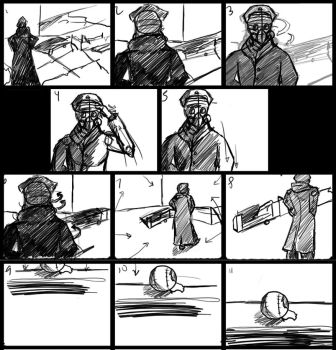 Storyboard for ep.1 by Switchfoot101