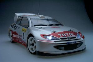 HPI WRC Peugeot 206 Rally Car by SMP70