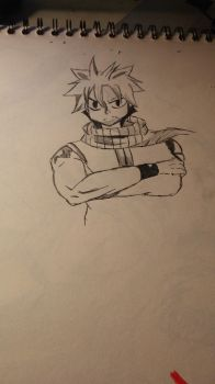 natsu dragneel by sonicfreack