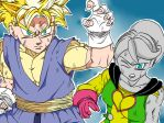 Paata and Puddin TeamFourStar and MasakoX Fan Art by KevinBeaver