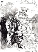Charlie and Guile by Makotsu