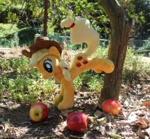 Apple Bucking by SirDragonLance