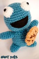 Cookie monster amigurumi! by Anxocunningham