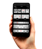 VU Meter android theme by homebridge