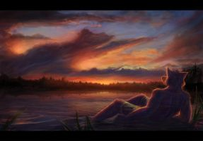 The Descending Sun by Temiree