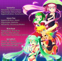 Vocaloid Season playlist by MidoriGale