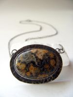 Ocean Jasper Hidden Pent Front by MoonLitCreations