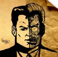 two face by dkstelo