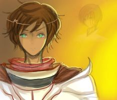 Synchronicity's Spain and Romano by SonneDark