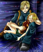Leon and Ashley- Nightmares by LukyLady123
