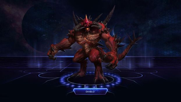 Heroes of the Storm #1: Diablo by Holyknight3000