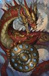 2015 Zodiac Dragons Ophiuchus by The-SixthLeafClover