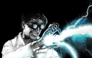 Dr. Insano Lightning by gabdiel