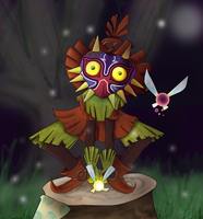 Skull Kid by Sirius-Dyuraji