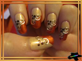 Bordure Nailart by Yamialexa