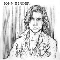 John bender line portrait by loosley