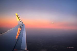 Flying Ryanair by hotonpictures