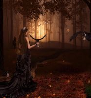 Bejeweled Forest by dAb-blingin-art