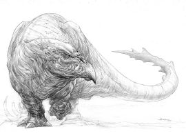 Monster concept by boscopenciller