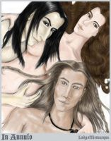 Severus, Hermione and Russel by severus-hermione