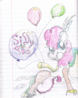 Silly Pie drawing by Yoshi123pegasister