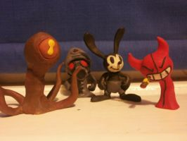 'Assorted Clay Models 2' by FierceTheBandit