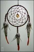 Wolf's Dreamcatcher by Siobhan68