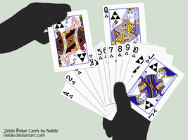 Zelda Poker Cards by Nelde
