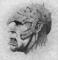Orc of Mordor by Sauroman