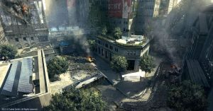 Crysis 2 - wall street by tiger1313