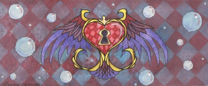 Heart Locket by ladydevilman