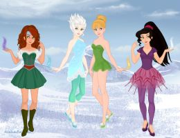 Tinkerbell+ (Wingless) by M-Mannering
