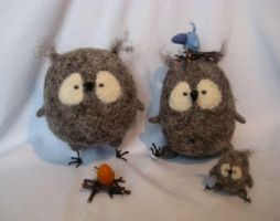 owls-mamas by talitka
