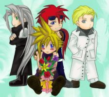 FF7... CHIBIFIED? by wingsoffreedom