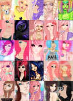 Dp Collage by SweetOnMyLips