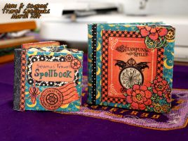 Mom and Son Travel Spellbooks by niamhwitch