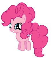 Pinkie Pie Filly by pulchra-mortuus