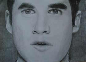 Darren Criss Drawing by lilmisscoolio