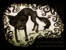 Creature of the Abyss by Satanizmihomedog