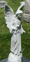 Mount Olivet Cemetery Angel 156 by Falln-Stock