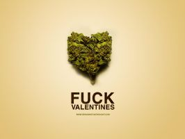 Fuck Valentine's wallpaper by ElenaSham